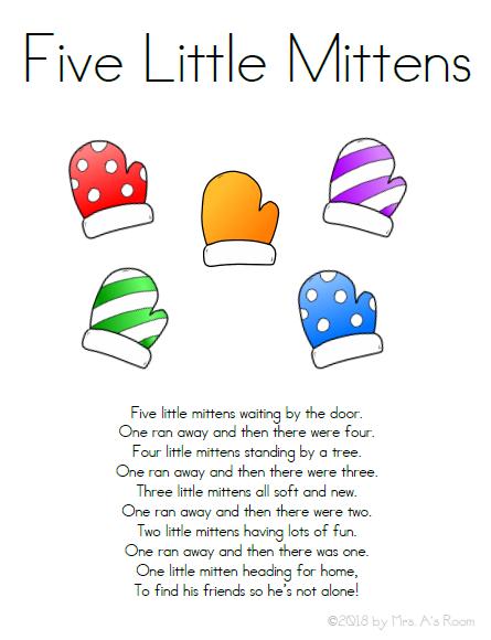 Five Little Mittens