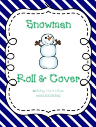 Snowman Roll and Cover Snip
