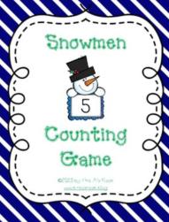 Snowmen Board Game Snip